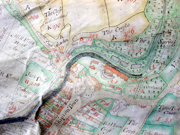 Crow's Map of Skipton 1757