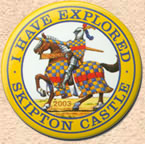 Skipton Castle Badge 2003