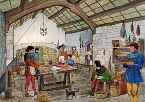 Medieval Kitchen - Skipton Castle