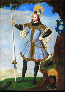 George Clifford 1558 - 1605 - Skipton Castle.  Click for larger image