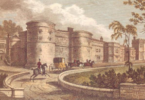 Skipton Castle in 1830 Click for larger image